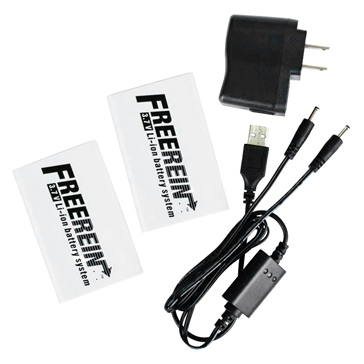 FAHRENHEIT ZERO Batteries Kit with Charger & Remote