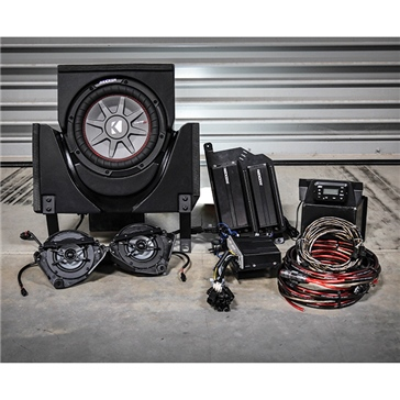 SSV WORKS Kicker Marine 3 Speaker Kit Fits Can-am