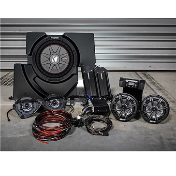 SSV WORKS Kicker Marine 5 Speaker Kit Fits Can-am