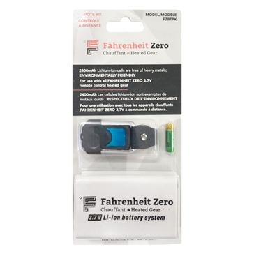 FAHRENHEIT ZERO Ensemble de batteries avec chargeur