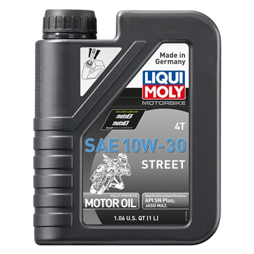 Liqui Moly Oil 4T Synthetic Street 10W30