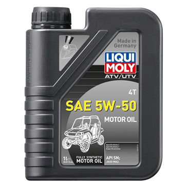 Liqui Moly Huile 4T Synthétique Motoroil VTT 1 L / 0.26 G