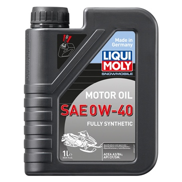 Liqui Moly Oil Snowmobil Motoroil Synthetic 0W40