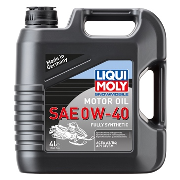 Liqui Moly Oil Snowmobil Motoroil Synthetic 4 L / 1.05 G