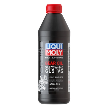 Liqui Moly Gear Oil 75W140 (GL5) VS 75W140