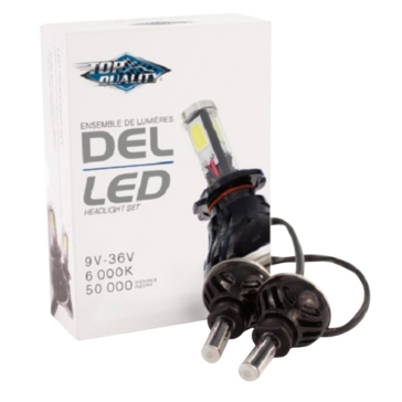 TRANSIT LED Headlight Set Black