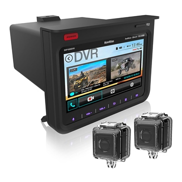 "NavAltas DXP1000DVR 7"" Command Center for RZR"