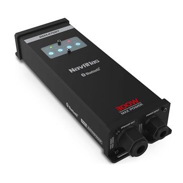 NavAltas 4-Channel Amplifier - 300W with Bluetooth Audio