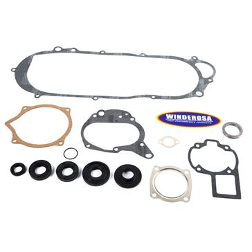 VertexWinderosa Complete Gasket Set with Oil Seals - 811 Fits Kawasaki, Fits Suzuki - 159172
