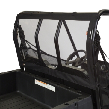 Classic Accessories QuadGear Rear Windshield Rear - Polaris - ProtekX6