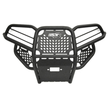 Bison Bumpers Hunter Bumper Front - Steel - Polaris