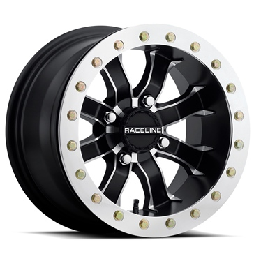 Raceline Wheels Mamba Beadlock Wheel 12x7 - 4/137 - 5+2