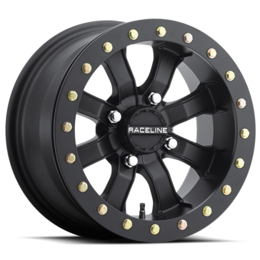 Raceline Wheels Mamba Beadlock Wheel 14x10 - 4/137 - 5+5