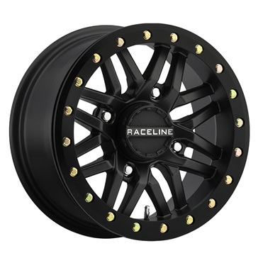 RACELINE WHEELS Ryno Beadlock Wheel 14x7 - 4/110 - 5+2