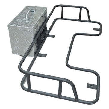 HORNET OUTDOORS Flat Rack on Rail and Tool Box