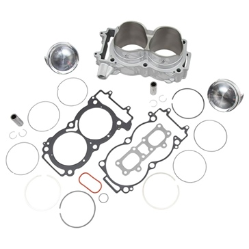Cylinder Works Big Bore Cylinder Kit Polaris - 900 cc - Nickel Silicon Carbide