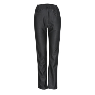 Women - Solid Color - Black - Regular WIN TEC Jeans