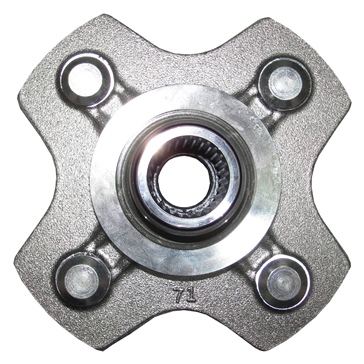 Wide Open Rear Axle Hub