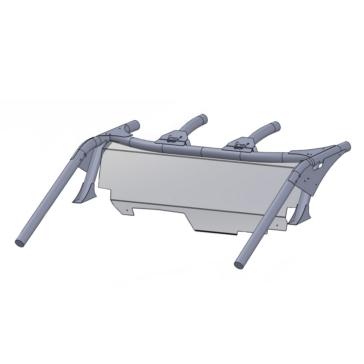 Direction 2 Pare-brise arrière Arrière - Can-am - Polycarbonate de lexan
