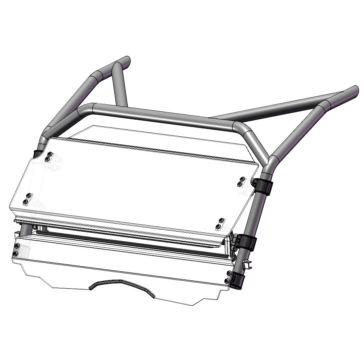 Direction 2 Tilt Windshield Front - CFMoto - MR10 Lexan Polycarbonate