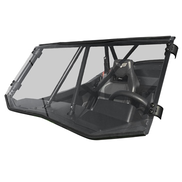 Direction 2 Full Windshield Front - Textron - Polycarbonate plastic