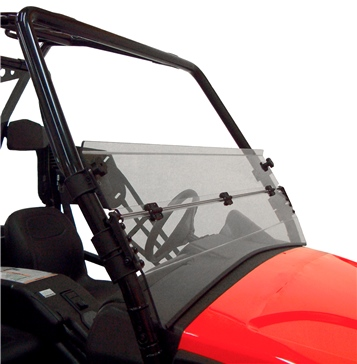 Direction 2 Demi pare-brise rabattable Avant - Arctic cat - Polycarbonate de lexan MR10