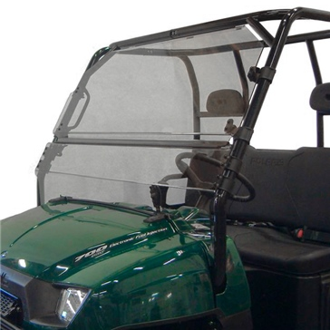 Direction 2 Tilt Windshield Front - Polaris - MR10 Lexan Polycarbonate