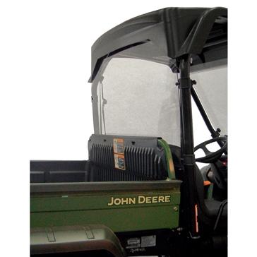 Direction 2 Rear Windshield & Back Panel Combo - Scratch Resistant Fits John Deere