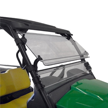 Direction 2 Complete Full Tilt Windshield Front - John Deere - Lexan Polycarbonate
