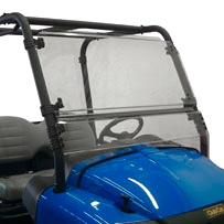 Direction 2 Complete Full Tilt Windshield Front - ClubCar XRT - Lexan Polycarbonate