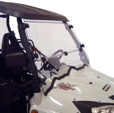 Direction 2 Complete Full Tilt Windshield Front - Nordik Motor, PowerMax - Lexan Polycarbonate