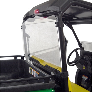 Direction 2 Rear Windshield Rear - John Deere - Lexan Polycarbonate