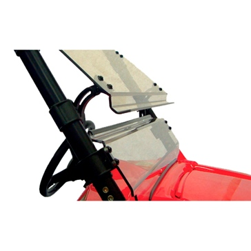 Direction 2 Pare-brise complet inclinable Avant - Polaris - Polycarbonate de lexan