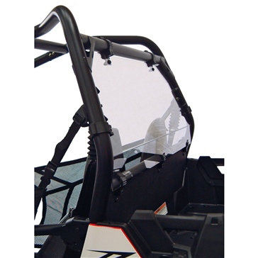 Direction 2 Rear Windshield & Back Panel Combo - Scratch Resistant Fits Polaris