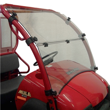 Direction 2 Folding Windshield Front - Kawasaki - MR10 Lexan Polycarbonate