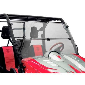 Direction 2 Folding Windshield Front - Yamaha - MR10 Lexan Polycarbonate