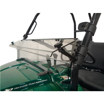 Direction 2 Half Windshield - Scratch resistant Fits Polaris