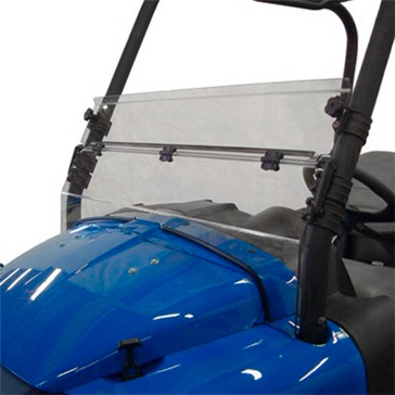 Direction 2 Demi pare-brise rabattable Avant - ClubCar XRT - Polycarbonate de lexan MR10