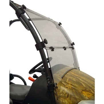 Direction 2 Complete Full Tilt Windshield Front - Kubota - Lexan Polycarbonate