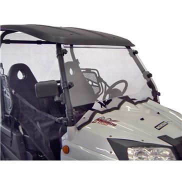 Direction 2 Complete Foldable Full Windshield Front - Nordik Motor, PowerMax - Lexan Polycarbonate