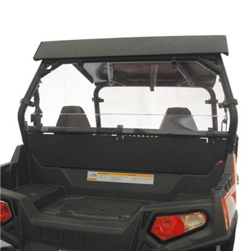 Direction 2 Rear Windshield & Back Panel Combo Fits Polaris