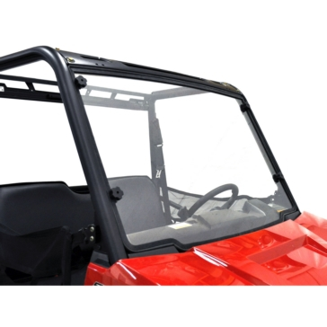Direction 2 Complete Foldable Full Winshield GP Front - Polaris - Lexan Polycarbonate, Gas permeability
