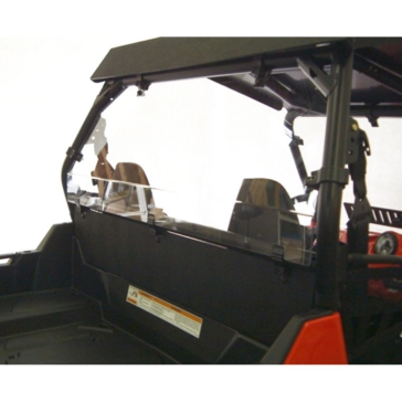 Direction 2 Rear Windshield - Scratch Resistant Fits Polaris
