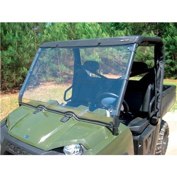 SEIZMIK Pare-brise plein pour Ranger XP/HD/CREW 09-11 Avant - Polaris - Acrylique