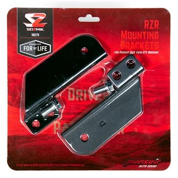 Support montage pour miroir Pursuit RZR 900s/1000 SEIZMIK