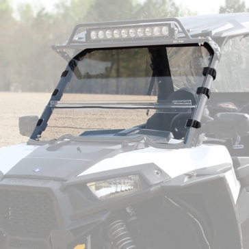 SEIZMIK Full Windshield Front - Polaris - Acrylic