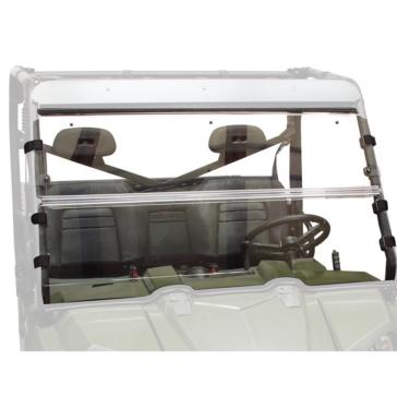 SEIZMIK Pare-brise Versa-Flip pour Ranger Full Size H-C Poly Avant - Polaris - Polycarbonate