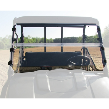 SEIZMIK Versa-Flip Windshield Front - Polaris - Polycarbonate