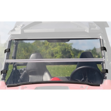 SEIZMIK Versa-Flip Windshield for RZR H-C Poly Front - Polaris - Polycarbonate