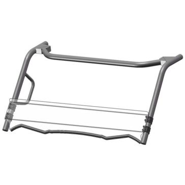 Direction 2 Short Windshield - Scratch Resistant Fits Kawasaki